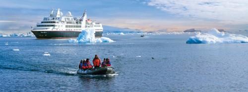 Croisières de luxe en Arctique et Antarctique