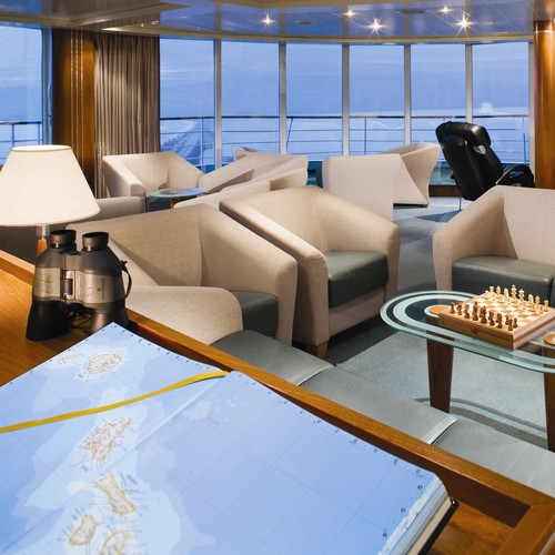 Croisière Silversea Observation Lounge
